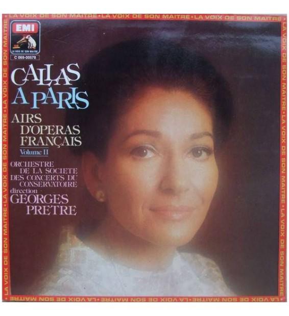 Maria Callas - Callas À Paris (Album II) (LP) mesvinyles.fr