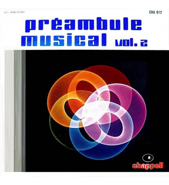 Paul Bonneau - Préambule Musical Volume 2 (LP)