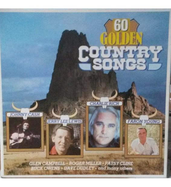 Various - 60 Golden Country Songs (Box + 3xLP, Comp) mesvinyles.fr