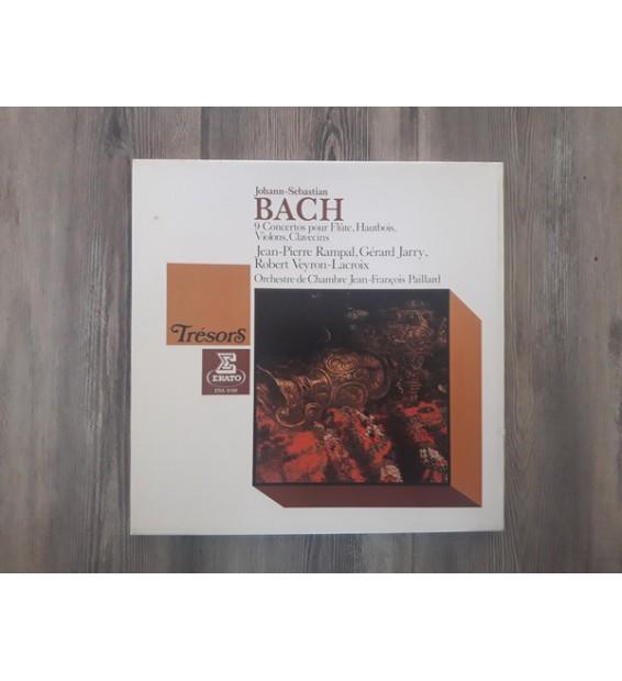 Johann Sebastian Bach, Jean-Pierre Rampal, Gérard Jarry, Robert Veyron-Lacroix, Orchestre De Chambre Jean-François Paillard - 9