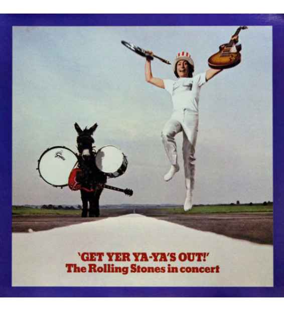 The Rolling Stones - Get Yer Ya-Ya's Out! - The Rolling Stones In Concert (LP, Album)
