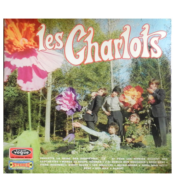 Les Charlots - Charlow-Up (LP, Album, Gat) mesvinyles.fr