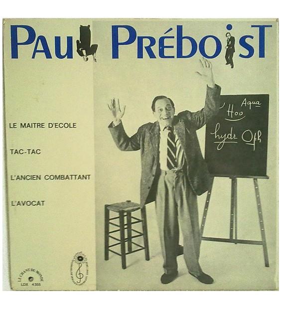 Paul Préboist - Le Maitre D'école (LP) mesvinyles.fr