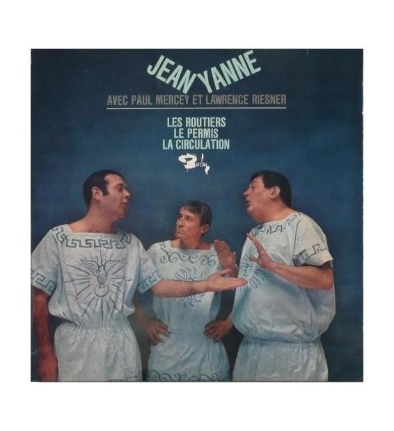 """Jean Yanne Avec Paul Mercey (2) Et Lawrence Riesner - Les Routiers (10"""") mesvinyles.fr"""