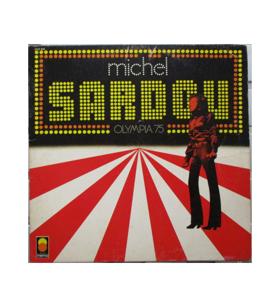 Michel Sardou - Olympia 75 (LP, Album)