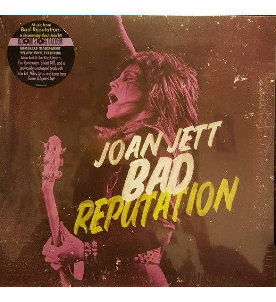 Joan Jett - Bad Reputation (LP, Comp, Ltd, Num)