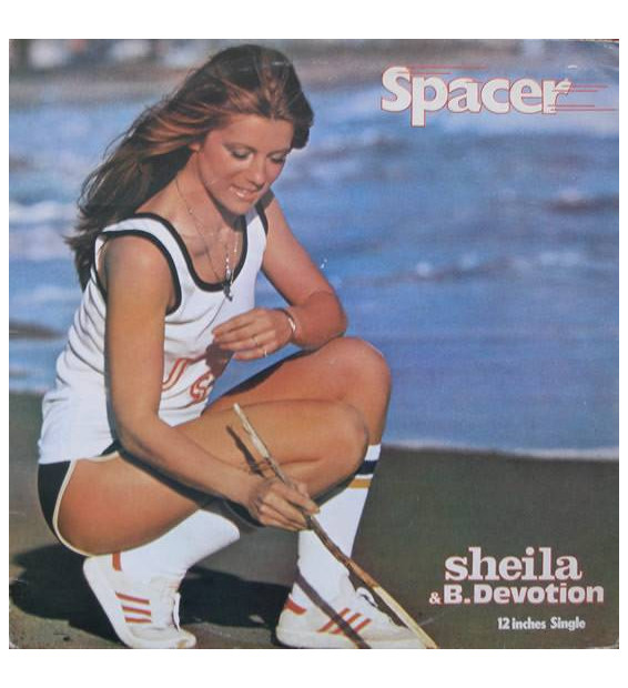 "Sheila & B. Devotion - Spacer (12"", Maxi, Ltd, Pic, RE, S/Edition) mesvinyles.fr"