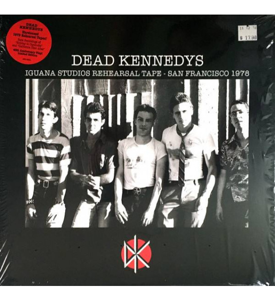Dead Kennedys - Iguana Studios Rehearsal Tape - San Francisco 1978 (LP, Album, Ltd)