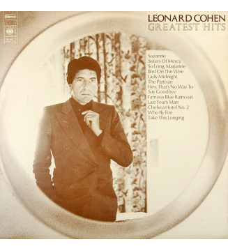 Leonard Cohen - Greatest Hits (LP, Comp)