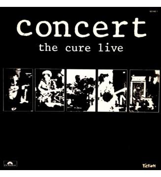 The Cure - Concert - The Cure Live (LP, Album)