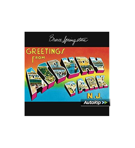 Bruce Springsteen - Greetings From Asbury Park N.J. (LP, Album, RE)
