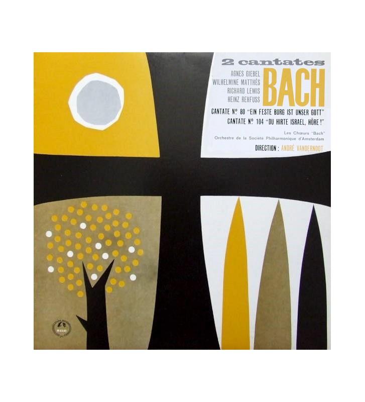 Bach* - Cantates Nº 80 et Nº 104 (LP, Album, Mono) mesvinyles.fr
