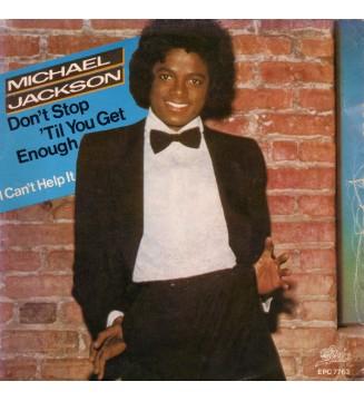 "Michael Jackson - Don't Stop 'Til You Get Enough / I Can't Help It (7"", Single)"