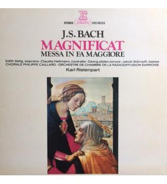 J.S. Bach*, Orchestre De Chambre De La Radiodiffusion Sarroise* Directed By Karl Ristenpart - Magnificat (LP) mesvinyles.fr