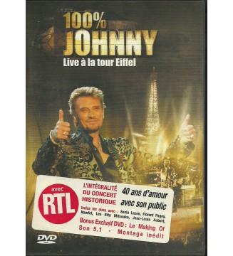 Johnny* - 100% Johnny - Live À La Tour Eiffel (DVD-V, PAL) mesvinyles.fr