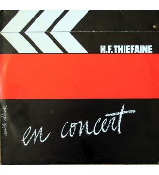 H.F. Thiéfaine* - En Concert (2xLP, Album)