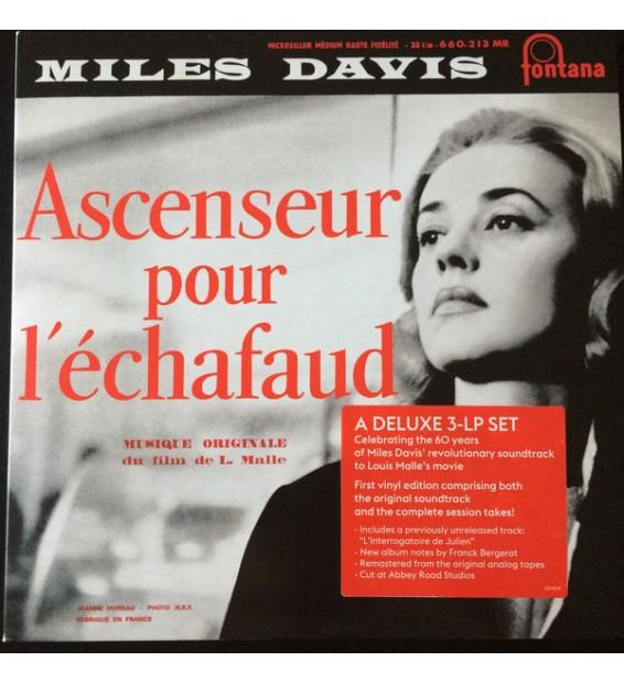 """Miles Davis - Ascenseur Pour L'Échafaud (10"""", Album, RE + 2x10"""" + Dlx, RM) mesvinyles.fr"""