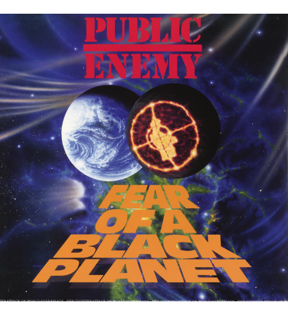 PUBLIC ENEMY - fear of a black planet (re-issue)