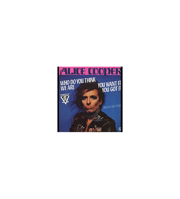 "Alice Cooper (2) - Who Do You Think We Are (12"", Maxi) mesvinyles.fr"
