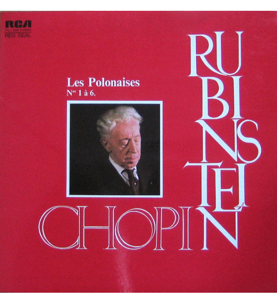Chopin* – Rubinstein* - Les Polonaises Nos 1 À 6. (LP, Album, RE, S/Edition) mesvinyles.fr