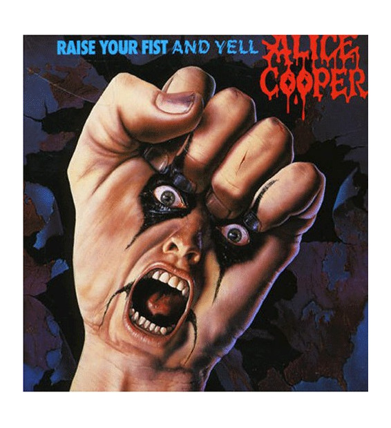 Alice Cooper (2) - Raise Your Fist And Yell (LP, Album)
