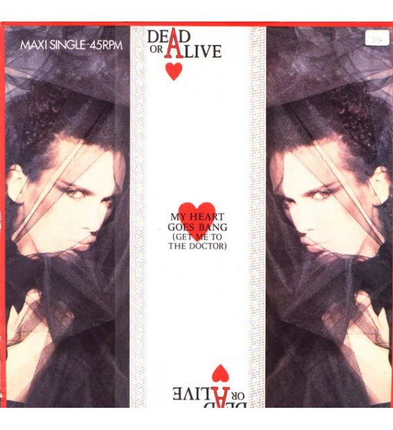"""Dead Or Alive - My Heart Goes Bang (Get Me To The Doctor) (12"""", Maxi)"""