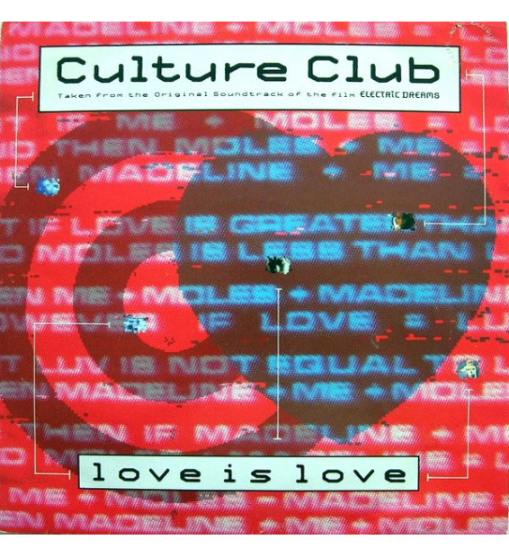 "Culture Club - Love Is Love (12"", Maxi, M/Print)"