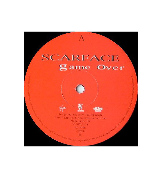 "Scarface (3) - Game Over (12"", Promo)"