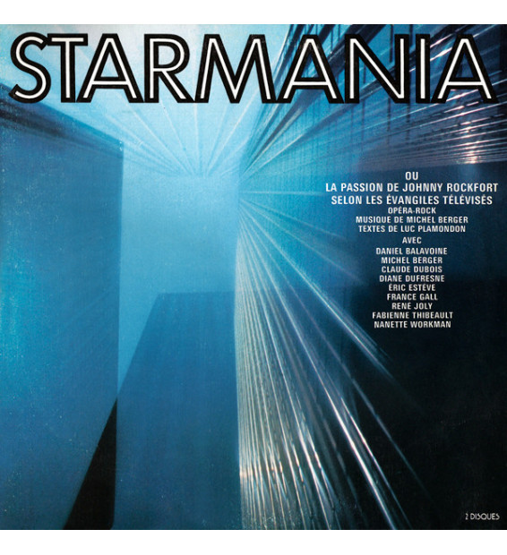 Michel Berger / Luc Plamondon - Starmania Ou La Passion De Johnny Rockfort Selon Les Évangiles Télévisés (2xLP, Album, Gat)