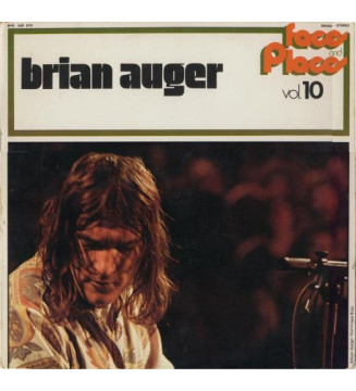 Brian Auger - Faces And Places Vol. 10 (LP, Comp) mesvinyles.fr