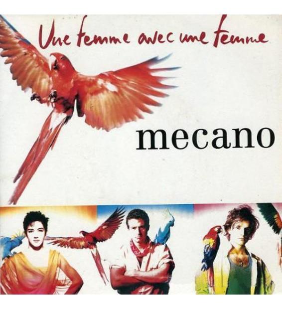 """Mecano - Une Femme Avec Une Femme (7"""", Single, ca) mesvinyles.fr"""