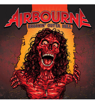 Airbourne - Breakin' Outta Hell (LP, Album, Gat) mesvinyles.fr