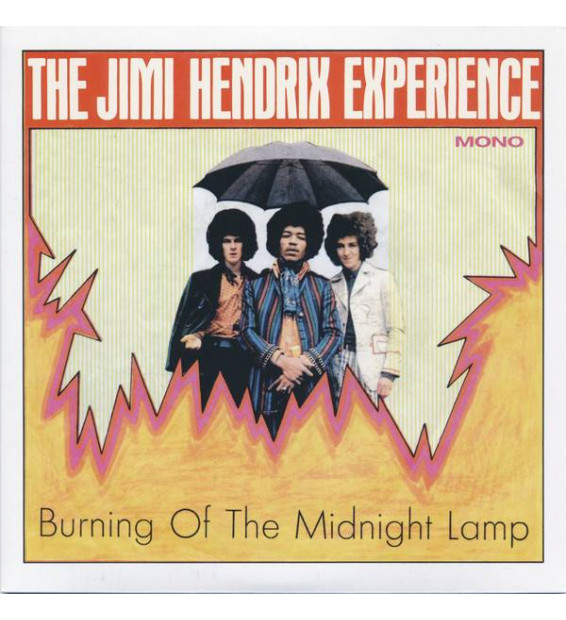 "The Jimi Hendrix Experience - Burning Of The Midnight Lamp (7"", EP, Mono, Ora)"