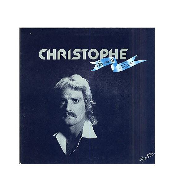 Christophe - Les Mots Bleus (LP, Album, Gat) mesvinyles.fr