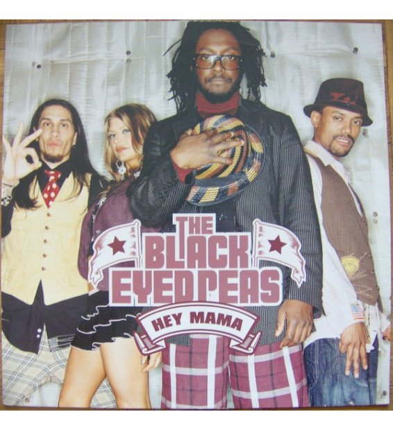"The Black Eyed Peas* - Hey Mama (12"") mesvinyles.fr"