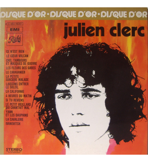 Julien Clerc - Disque D'Or De Julien Clerc (LP, Comp) mesvinyles.fr