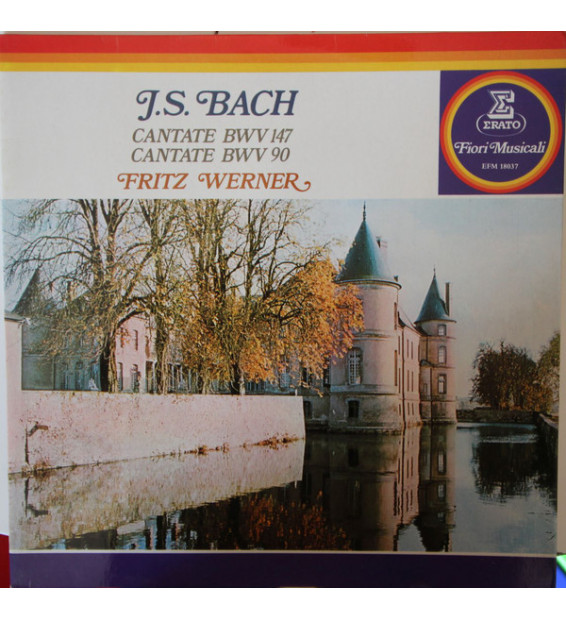 Johann Sebastian Bach, Fritz Werner - Cantate BWV 147/ Cantate BWV 90 (LP, Album, gat) mesvinyles.fr