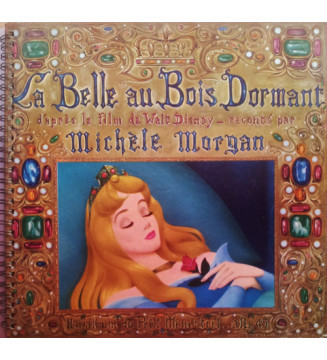 """Michèle Morgan - La Belle Au Bois Dormant  (10"""", Album) mesvinyles.fr"""