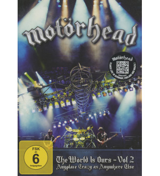 Motörhead - The Wörld Is Ours - Vol 2 (Anyplace Crazy As Anywhere Else) (DVD-V, NTSC) mesvinyles.fr