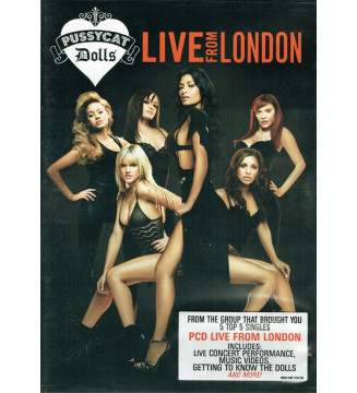 Pussycat Dolls* - Live From London (DVD-V, PAL) mesvinyles.fr