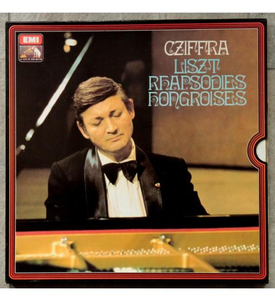 Cziffra*, Liszt* - Rhapsodies Hongroises (3xLP, Mono + Box) mesvinyles.fr