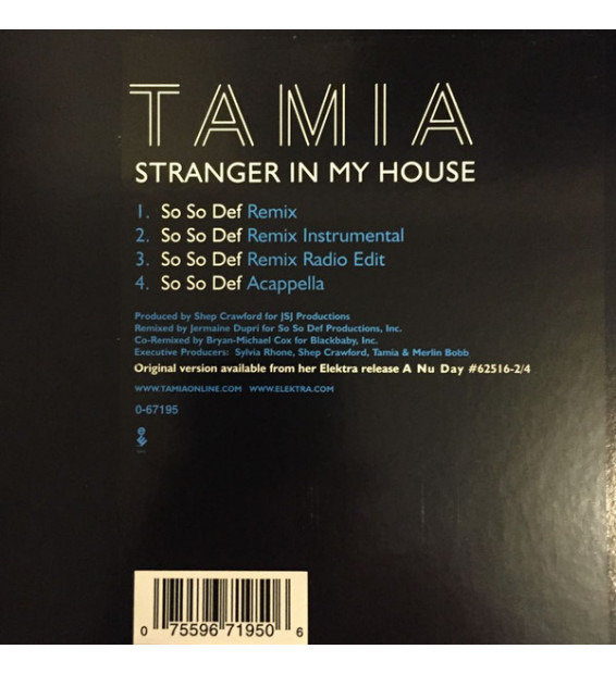 "Tamia - Stranger In My House (12"")"