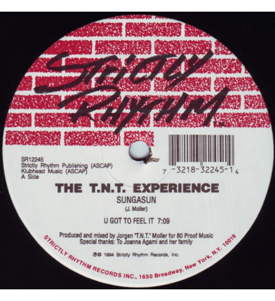 "The T.N.T. Experience* - Sungasun (12"")"