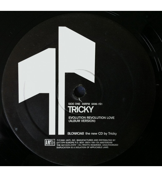 "Tricky - Evolution Revolution Love (12"", Promo)"