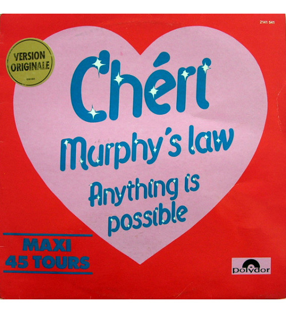 """Chéri* - Murphy's Law / Anything Is Possible (12"""", Maxi)"""