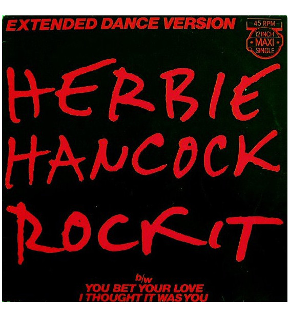 "Herbie Hancock - Rockit (Extended Dance Version) (12"", Maxi)"