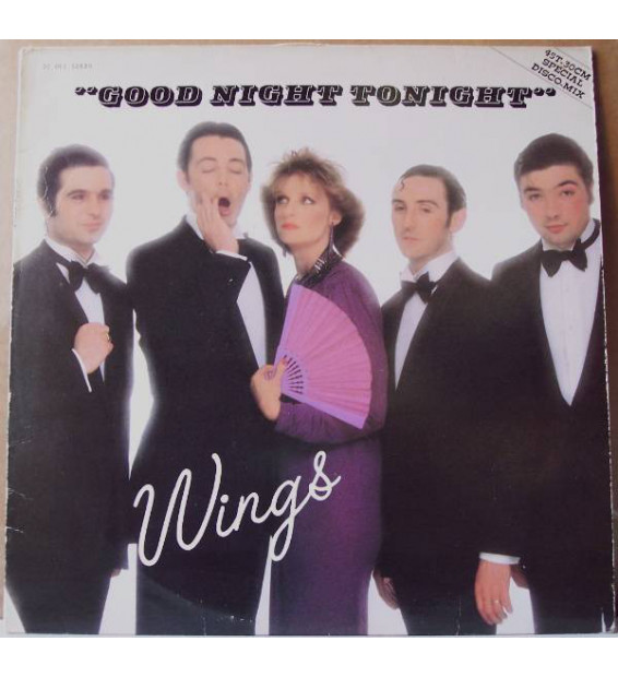"Wings (2) - Good Night Tonight (Special Disco-Mix) (12"", Maxi)"