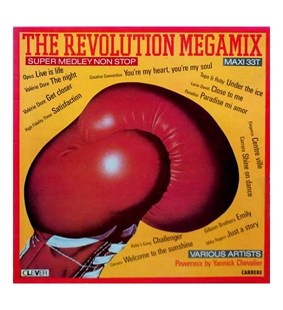 "Various / Piano Fantasia - The Revolution Megamix / Playing (12"", Maxi)"