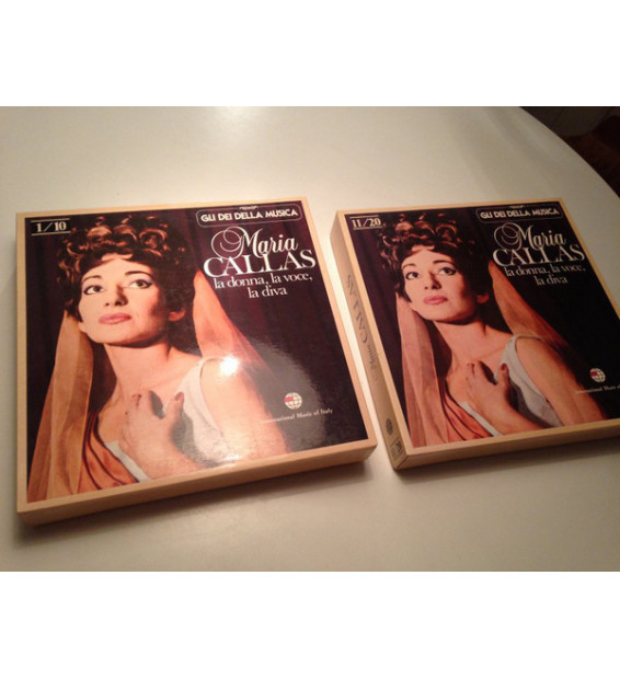 Maria Callas - La Donna, La Voce, La Diva (1/10) (10xLP, Comp + Box, Comp) mesvinyles.fr