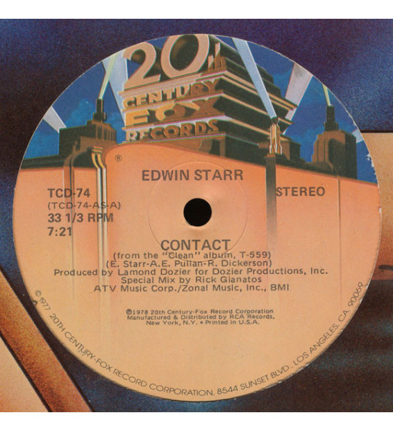 "Edwin Starr - Contact (12"")"